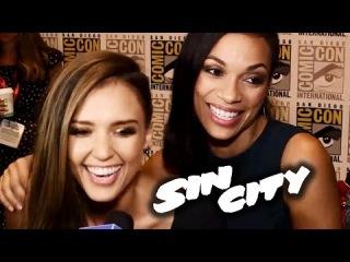 Sin City 2 Interviews - Comic-Con 2014 (Josh Brolin, Jessica Alba, Rosario Dawson)