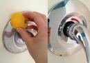 Как эффективно очистить краны от пятен в ванной без химических средств?