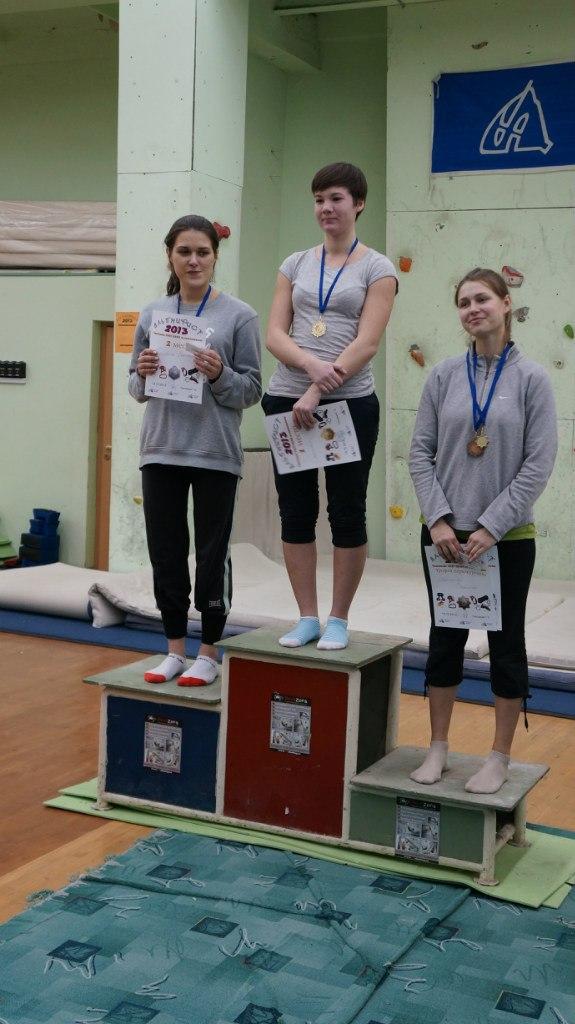 Победители и призёры среди девушек. Фото Ирины Леоновой