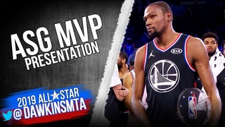 Kevin Durant 2019 All-Star Game MVP Presentation & Interview | FreeDawkins