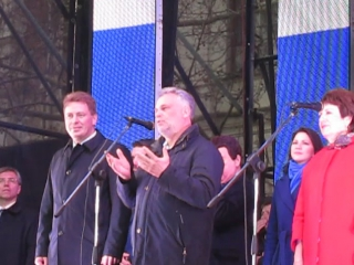 Концерт в Севастополе.18.03.2017.Выступление Чалого