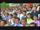 김정은원수님을 모시고 진행된 공화국창건 65돐경축 로농적위군 열병식 및 Ȟ