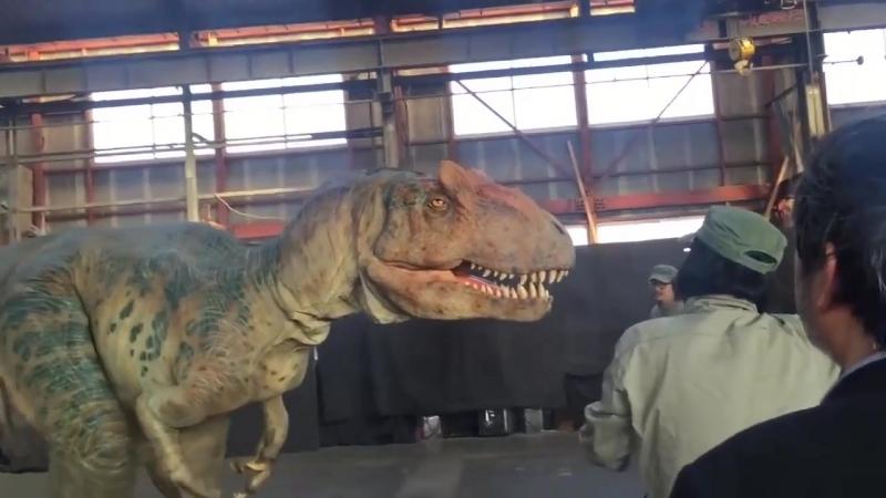 Японцы создали безумно реалистичного Аллозавра