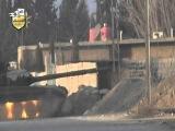 لواء الاسلام عملية نوعية تفجير دبابة وتحو&#16