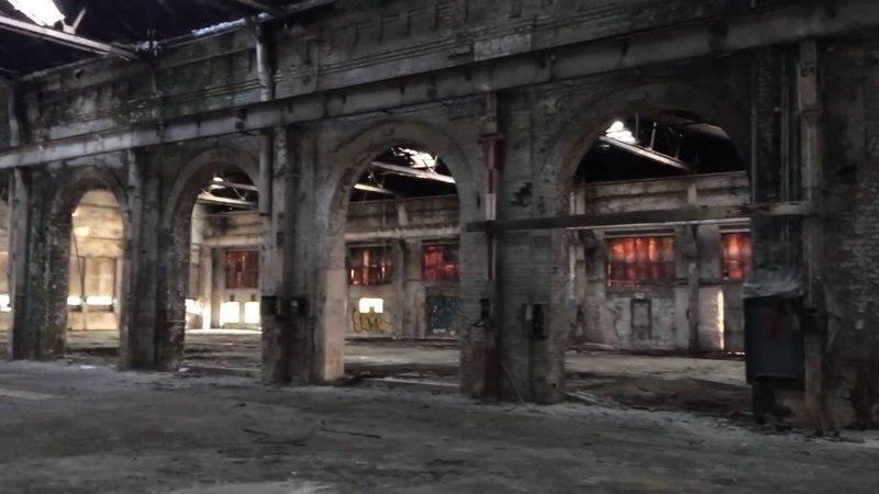 Abandoned Huge CSX Railroad Facility Rocky Mount, NC