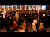Донецк 05.03.2013 - противостояние активистам майдана