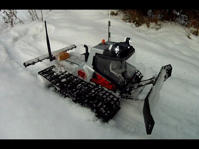 RC kyosho blizzard snow plower FPV