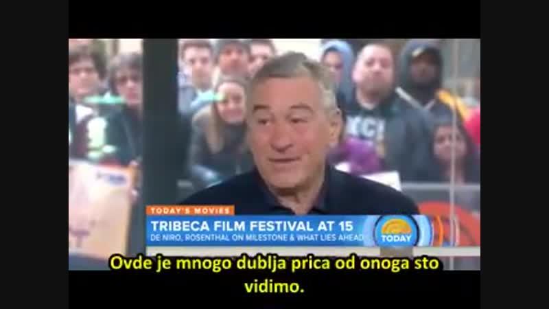 Robert De Niro želi da javnost sazna o vezi