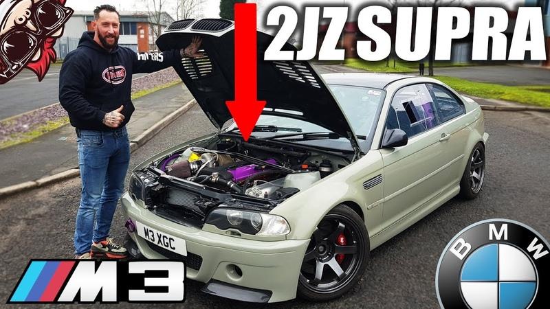 🐒 INSANE SUPRA 2JZ SWAPPED BMW! RACE SPEC E46 M3