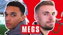 The Ball Isn't Going to Fit In That! | Trent Alexander-Arnold v Jordan Henderson | Megs | England