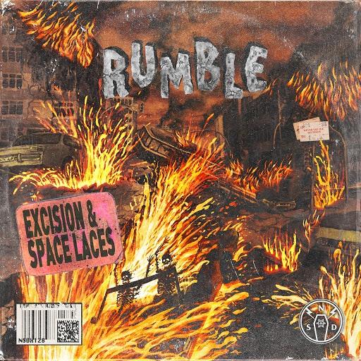 Excision альбом Rumble