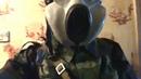 противогаз ПБФ, шлемофон и рюкзаk. Russian gas mask PBF, pilot helmut