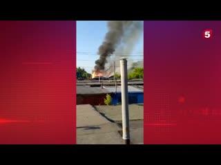 Момент мощнейшего взрыва в доме в Омске