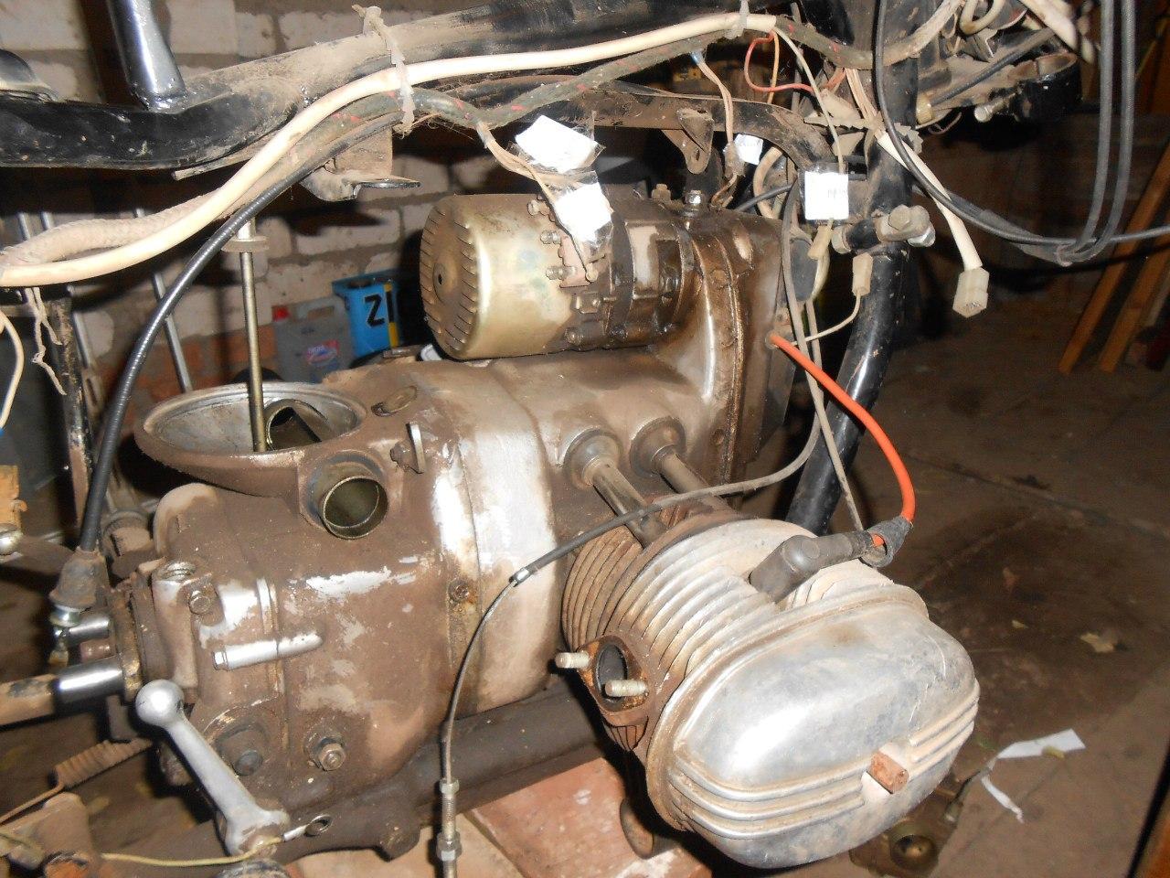 Ремонт двигателя мотоцикл 9 фотография