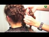Плетение косы набок Cute side braid. parikmaxer.tv (парикмахер тв)