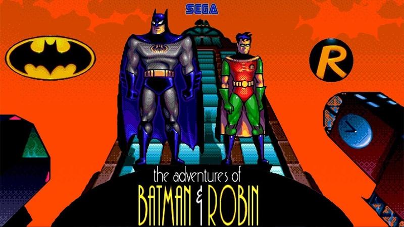 The Adventures of Batman Robin walktrough Бэтмен и Робин Sega Mega Drive Genesis 60fps