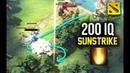200 IQ SUNSTRIKE PREDICTION Noone Invoker Dota 2