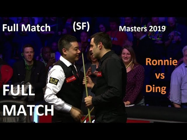 Ronnie O'Sullivan vs Ding Junhui 720p HD - (full match) Masters Snooker 2019 (SF)