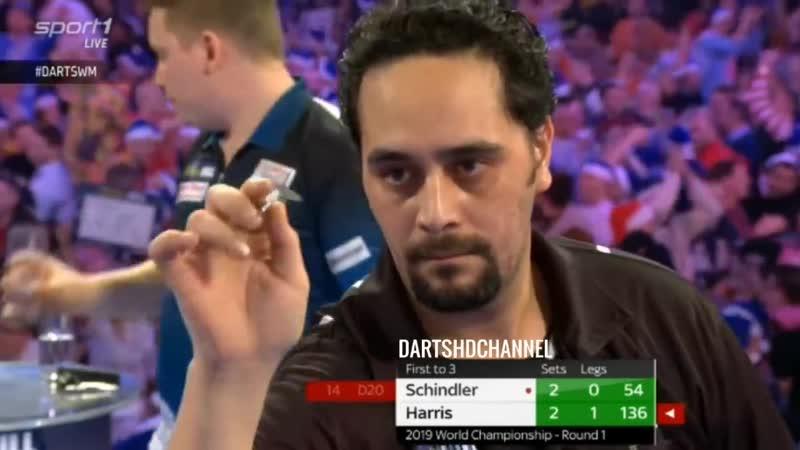 2019 PDC World Championship | Round 1 | Schindler v Harris