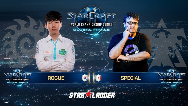 2018 WCS Global Finals Ro16, Group D, Match 2: Rogue (Z) vs SpeCial (T)