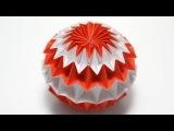 Оригами. Волшебный шар. Трансформер.