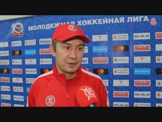 Рустем Камалетдинов о игре СКА-Варяги (15.10.18)