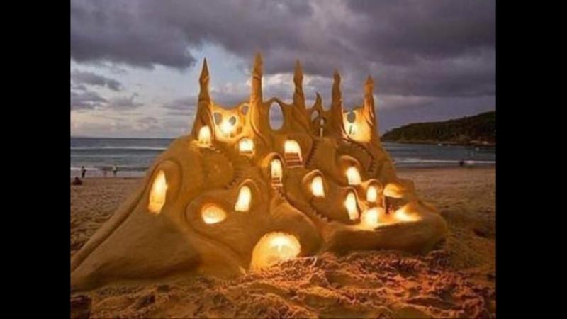Фигуры - из песка !