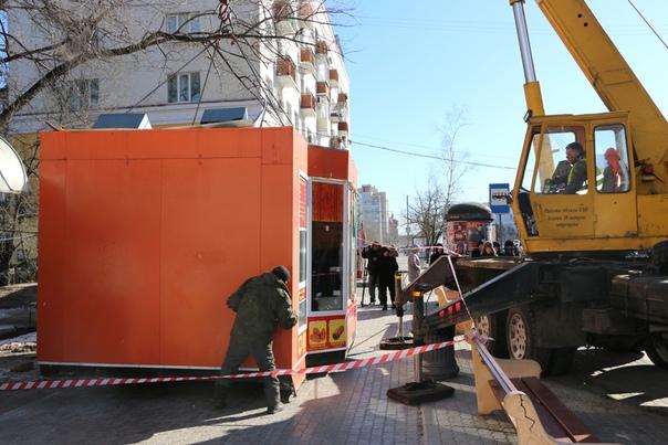 150 торговых киосков Хабаровска в «черном списке»