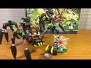 Обзор набора Лего Легенды Чимы 70130 Паучий Охотник Спарратуса