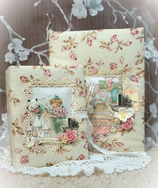Нежнейшие шкатулочки для хранения памятных сердцу вещиц малыша и папки для свидетельства о рождении…. (8 фото)