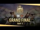 PUBG Mobile Campus Championship - Grand Final Day 1