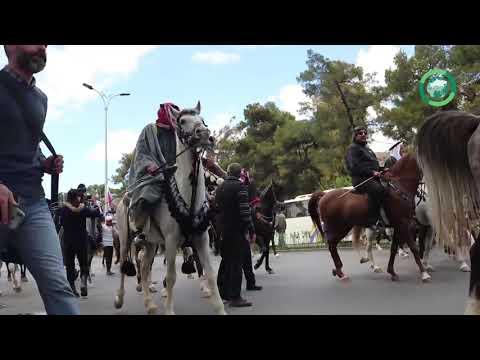 Международный фестиваль арабских скакунов проходит в сирийском Дамаске