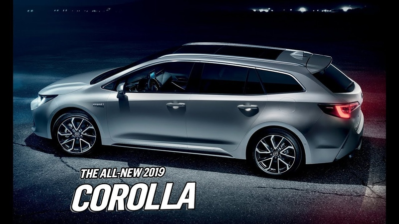 2019 Toyota Corolla Touring Sports - Features, Design and Interior