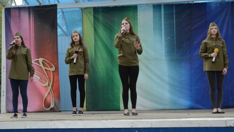 Марш Победы Обр эстрадная группа Частный Визит рук О Костенко