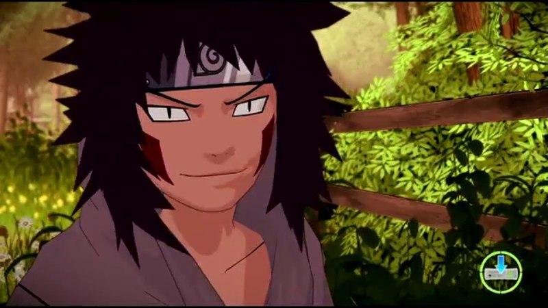 Naruto Broken Bond {Xbox 360} прохождение часть 5 — Задание Кибы