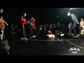 AKATSUKI BATTLE _ HIP HOP 3X3 _ MIDDLE FAM VS HUSTLA FAM