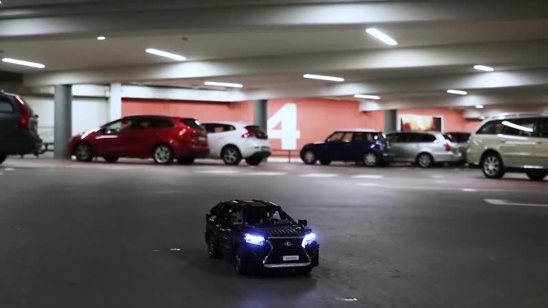 Самоделка LEGO Lexus
