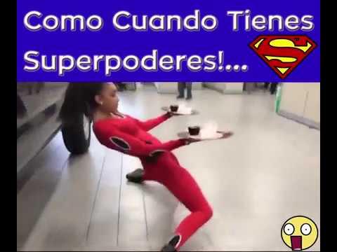 COMO CUANDO TIENES SUPERPODERES 😱😱😱😱😱😱