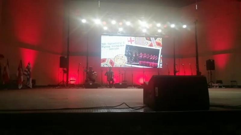 Грузия на международном фестивале фольклора