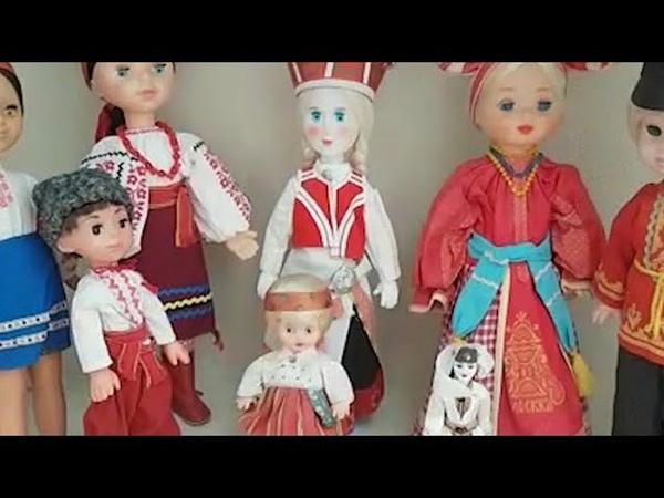 Коллекцию из 3 000 кукол собрала жительница Тбилисского района Кубани