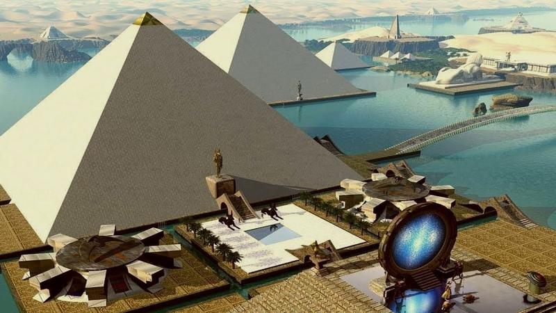 الأغراض الحقيقية لأهرامات الجيزة: التكنو160