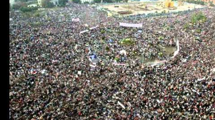 Egyptian Revolution - El pueblo unido jamás será vencido