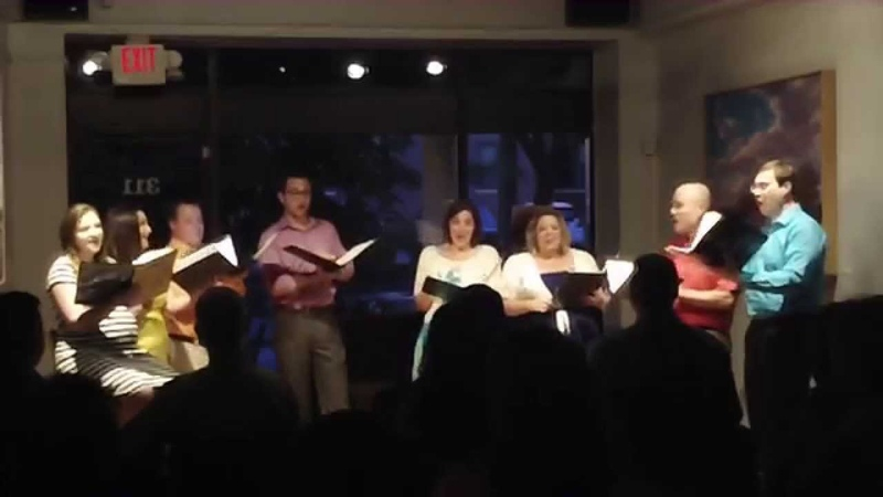 Night and Day - Porter, arr Carter - Ellenwood Singers - 061114