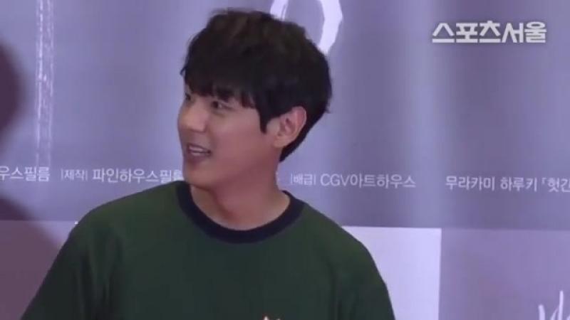 Kwak Si Yang on Burning VIP-premiere 14.05.2018