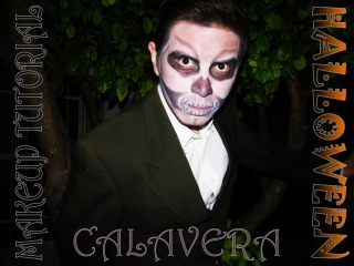 Хэллоуинский грим: SKULL MAKEUP TUTORIAL for MEN (Halloween)°|°Maquillaje Calavera Halloween ¬.¬