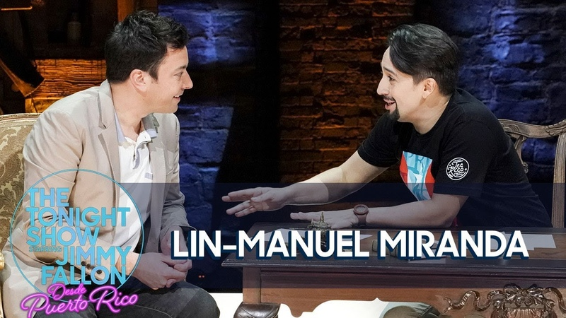Jimmy Interviews Lin-Manuel Miranda on the Hamilton Stage in Puerto Rico
