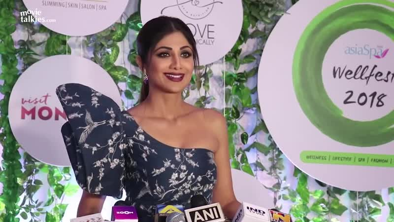Shilpa Shettys FUNNY MOMENTS At Asia Spas Fit Fabulous Awards 2018