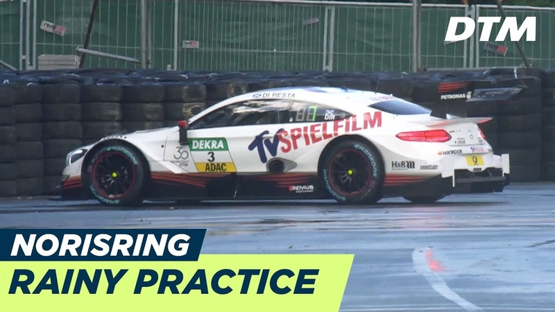Rainy First Practice - DTM Norisring 2018