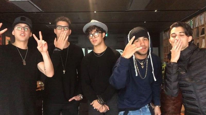 """730.no on Instagram: """"Latino-boyband er litt mer extra ✨ I kveld skal vi på showcase med CNCO, intervju kommer senere 😎 @cncomusic"""""""