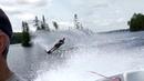 Slalom Water Skiing @ 49 km h